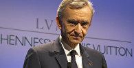 Председатель и главный исполнительный директор Louis Vuitton Moet Hennessy Бернард Арно. Архивное фото