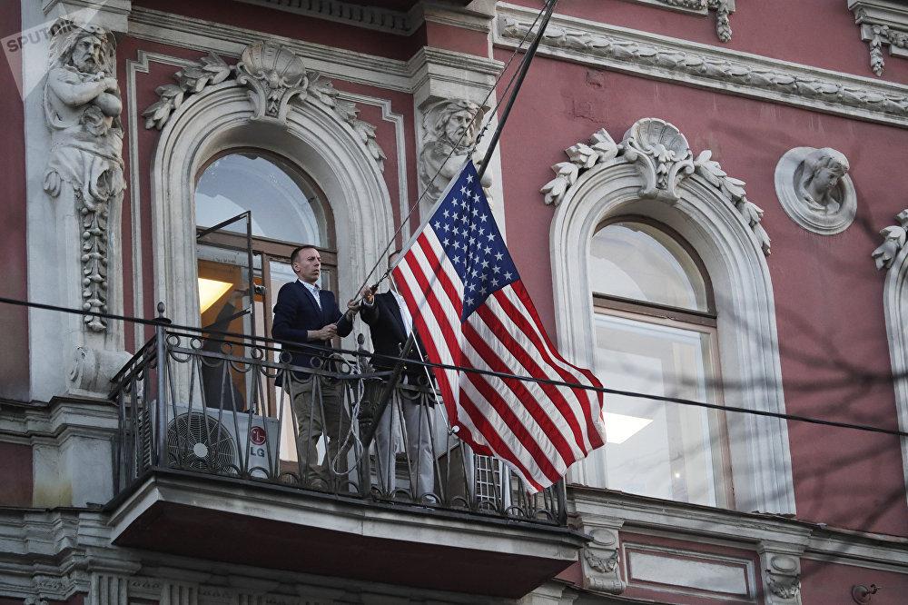 Закрытие генконсульства США в Санкт-Петербурге