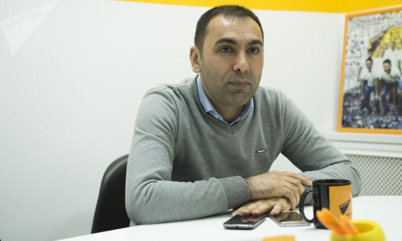 Менеджер по международному маркетингу в клинике Memorial в Турции Фуркан Улусой во время интервью корреспонденту Sputnik Кыргызстан