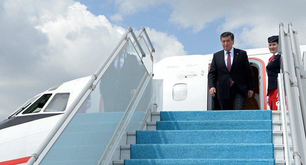 Президент Киргизии примет участие в совещании Высшего евразийского финансового совета вСочи
