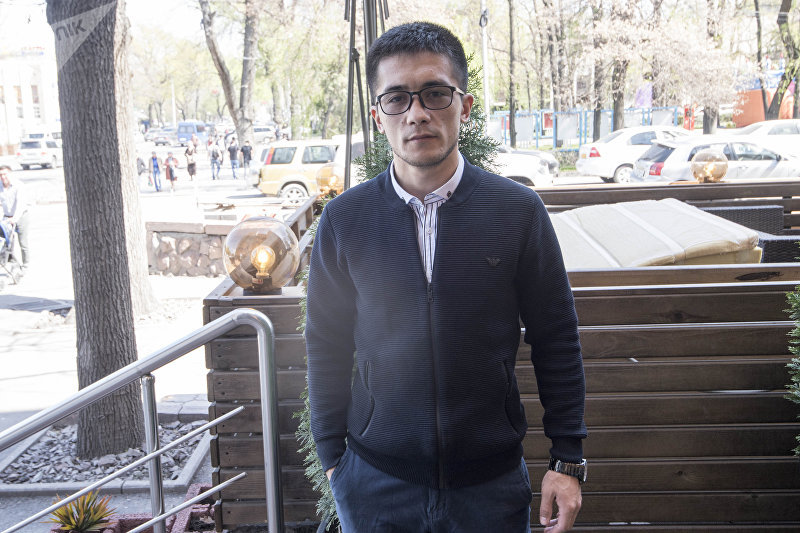 Чемпион мира по кикбоксингу, кыргызстанец Улан Касымбеков