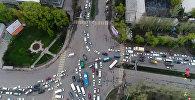 Большие пробки в Бишкеке — прямая трансляция