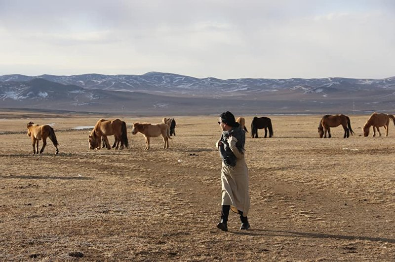 Дизайнер, художник Гульжан Иреш в Монголии