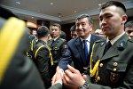 Президент КР Сооронбай Жээнбеков в рамках двухдневного визита в Турецкую Республику встретился с представителями кыргызской диаспоры в Турции