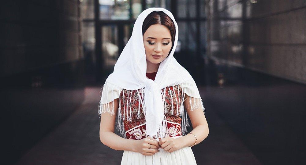 Кыргызская этрадная певица Асел Кадырбекова. Архивное фото