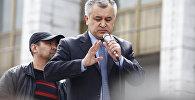 Архивное фото лидера партии Ата Мекен Омурбека Текебаева