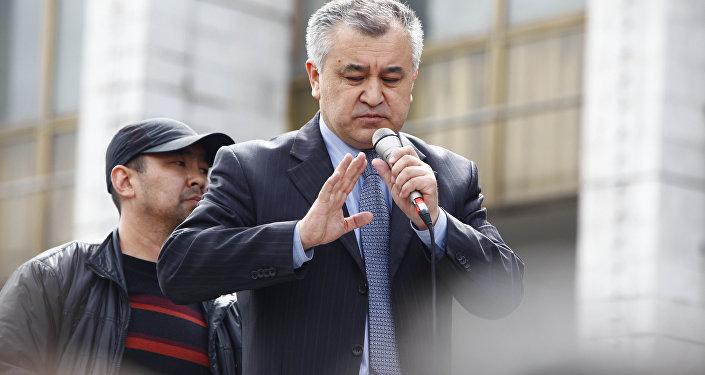 Омурбек Текебаев. Архивное фото