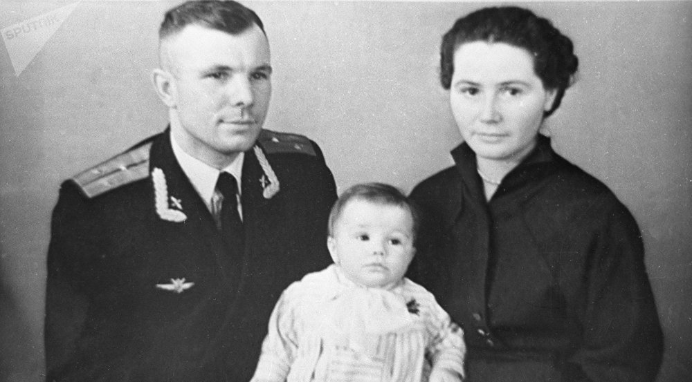 Герой Советского Союза, летчик-космонавт СССР Юрий Гагарин