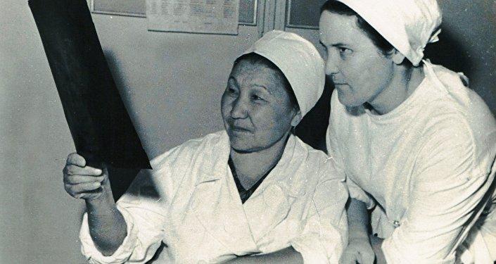Первая женщина-хирург в Центральной Азии Какиш Рыскулова