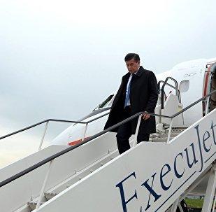 Президент Кыргызской Республики Сооронбай Жээнбеков с рабочим визитом прибыл в г.Брюссель, Бельгия