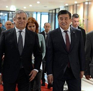 Рабочий визит президента Кыргызстана в Бельгию