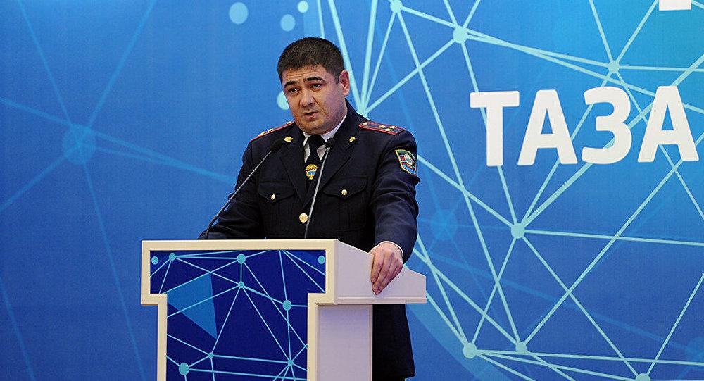 Архивное фото начальника ГУВД Бишкека Каната Джумагазиева. Архивное фото