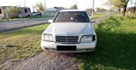 Автомобиль на котором был совершен автонаезд на трех девочек в селе Беловодском Московского района Чуйской области