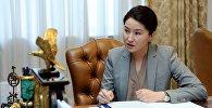 Экс-генеральный прокурор КР Индира Джолдубаева. Архив