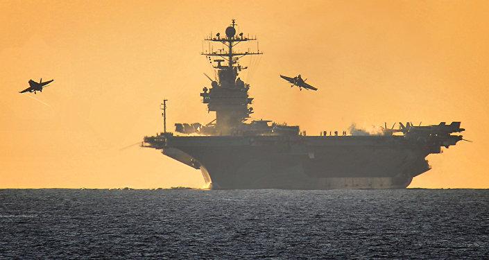 Авианосец ВМС США Harry Truman. Архивное фото