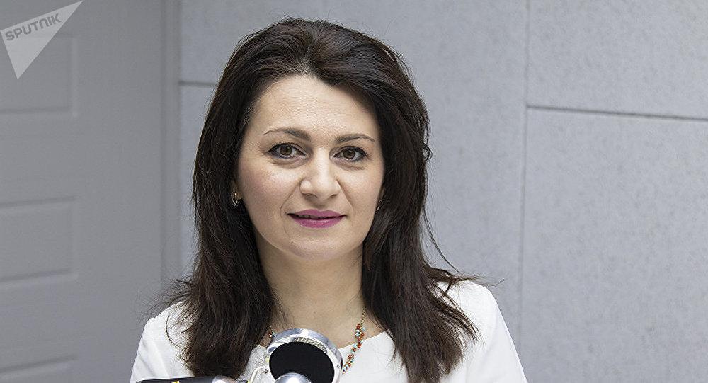 Глава молдавского Национального центра предупреждения насилия над детьми Даниела Сымботяну. Архивное фото