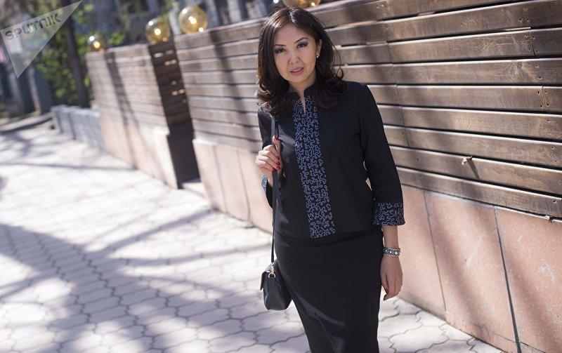 Основательница модного дома Толгонай Байра