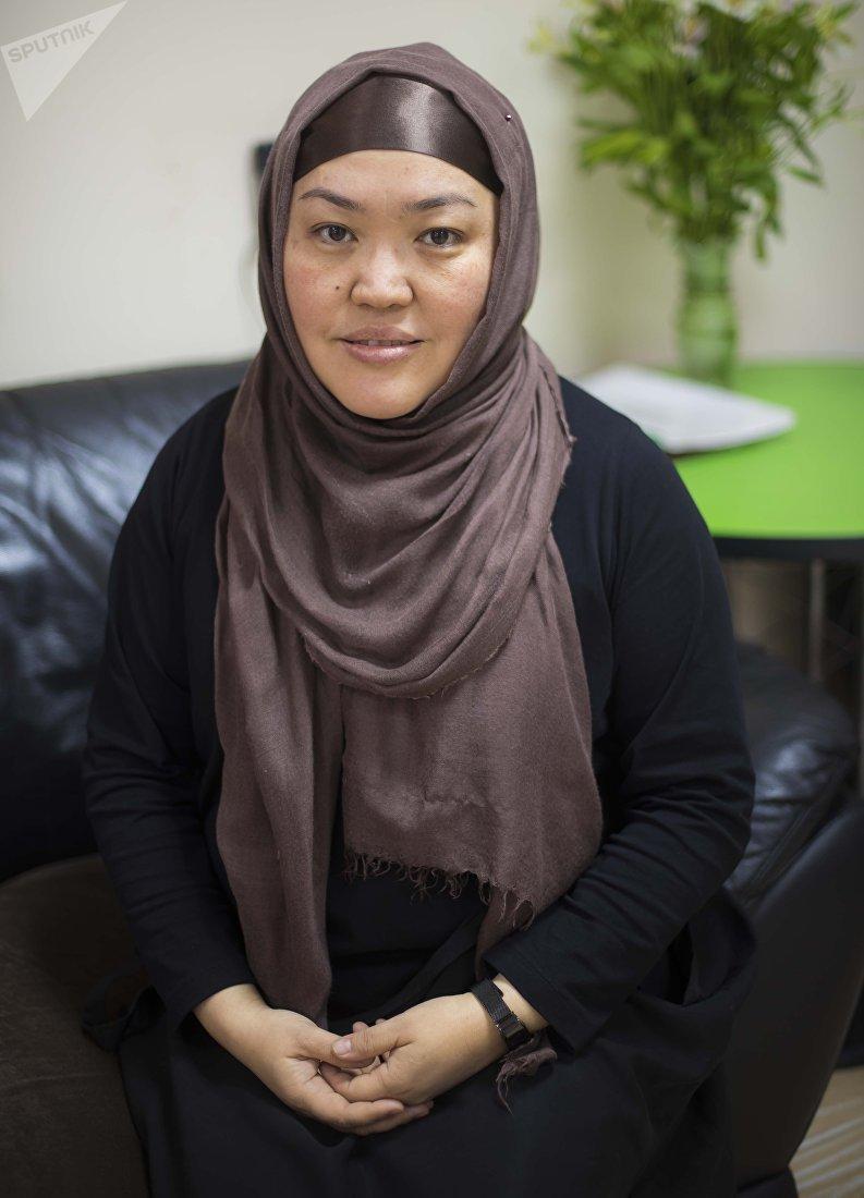 Директор медицинского центра в Бишкеке Айнура Адамалиева