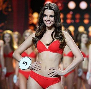 Выступление финалисток конкурса Мисс Россия-2018 в концертном зале Барвиха.