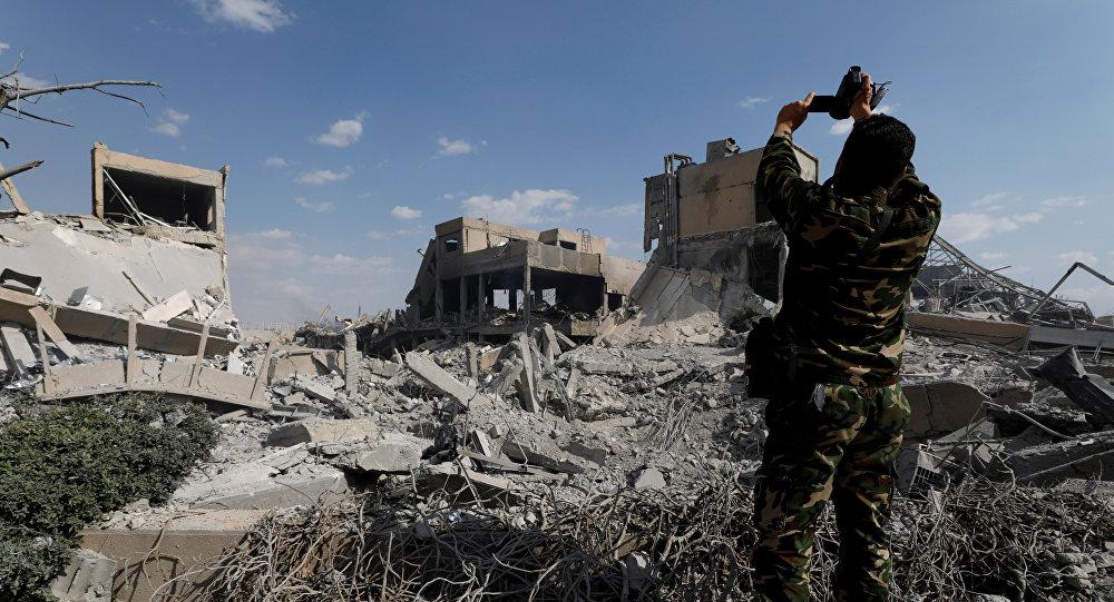 Ракетные удары по Сирии военными США, Великобритании и Франции