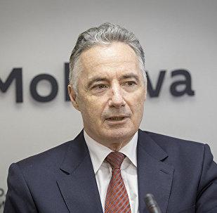 Экс-министр обороны Молдовы генерал Виктор Гайчук. Архивное фото