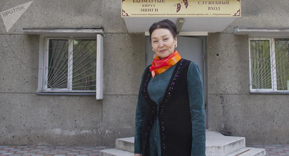 Кыргыз Республикасынын Эмгек сиңирген артисти Тынара Абдразаева