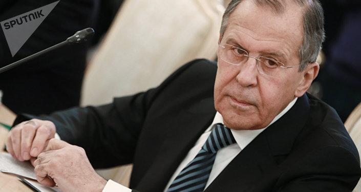 Архивное фото министра иностранных дел России Сергея Лаврова