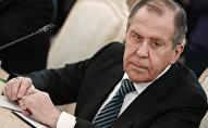 Россиянын тышкы иштер министри Сергей Лавров. Архив