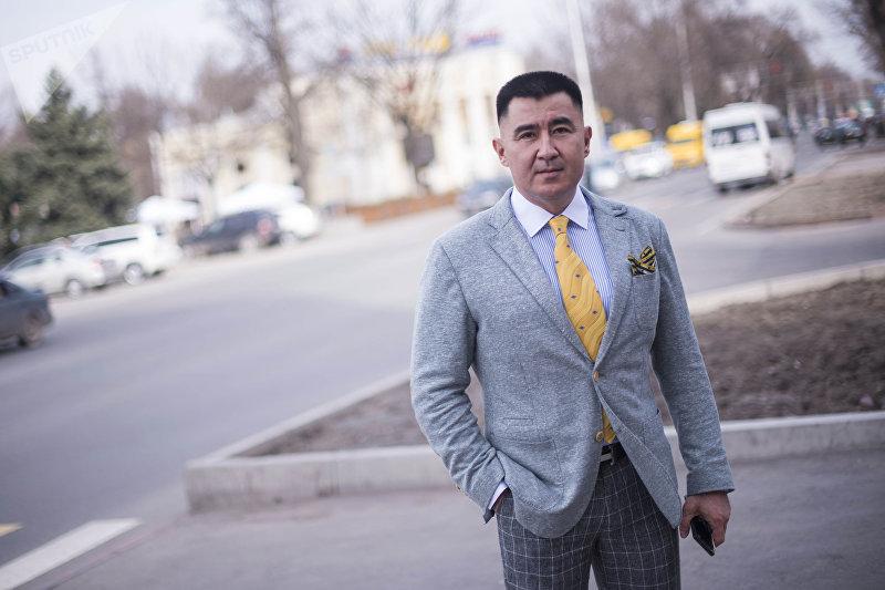 Эксперт, экс-начальник пресс-службы МВД КР Эсена Салиев