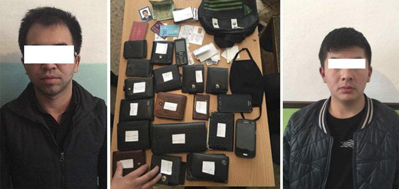 Сотрудники УВД Первомайского района задержали подозреваемых в серии карманных краж, совершенных в маршрутках