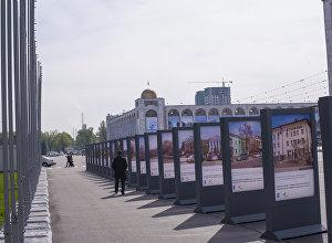 Sputnik Кыргызстан маалымат агенттиги менен радиосу Бишкек мэриясы менен биргеликте борбор калаанын 140 жылдыгына арналган Сүйүктүү шаарыбыз кечээ жана бүгүн деп аталган сүрөткөргөзмө ачты