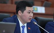 Альфа Телеком (MegaCom бренди) компаниясынын башчысы, мурдагы депутат Акылбек Жамангулов. Архив