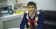 Президент Общества больных гемофилией КР Нурбек Орозалиев во время интервью корреспонденту Sputnik Кыргызстан