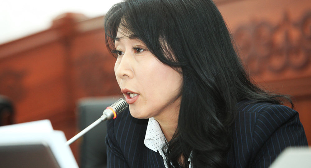 Депутат Жогорку Кенеша Аида Исмаилова