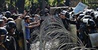 Армениянын мурдагы президенти Серж Саргсяндын өкмөт башчы болуусуна каршы акция