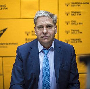Президент Ассоциации рынков, предприятий торговли и сферы услуг КР Сергей Пономарев