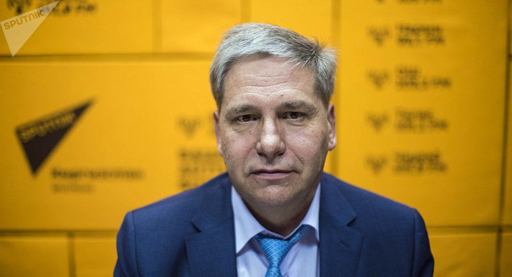 Президент Ассоциации рынков Кыргызстана Сергей Пономарев. Архивное фото