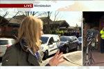 Автоавария попала в прямой эфир выпуска новостей на канале ВВС — видео