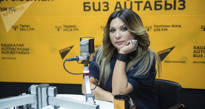 Уроженка Кыргызстана, солистка группы Город 312 Светлана Назаренко в редакции Sputnik Кыргызстан