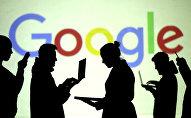 Google компаниясынын логотиби. Архивдик сүрөт