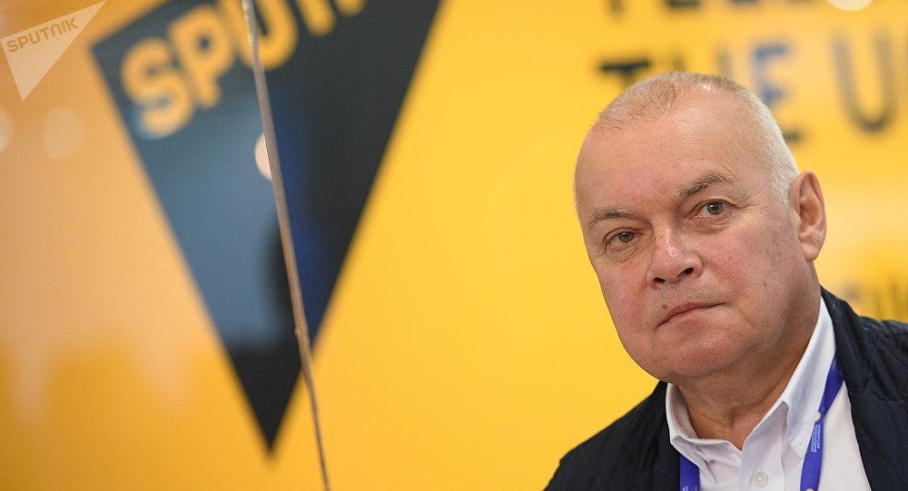 Архивное фото генерального директора МИА Россия сегодня Дмитрия Киселева