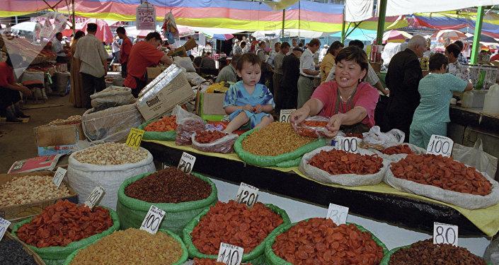 Ошский рынок. Ахрхивное фото
