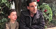Раненый мальчик из Сирии рассказал, как снимали ролик о химатаке