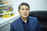 Жол чарба департаментинин өндүрүш техникалык бөлүмүнүн жетекчиси Акылбек Мусабаев