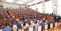 Рассмотрение кандидатуры правительства во главе с премьером Мухаммедкалыем Абулгазиевым