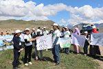 Акция Марш парков в Токтогульском районе