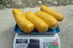 Найденные 4 килограмма 433 грамма опия у задержанного 42-летнего жителя Кара-Сууйского района