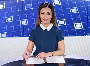 Телеведущая, диктор Айдай Самиева