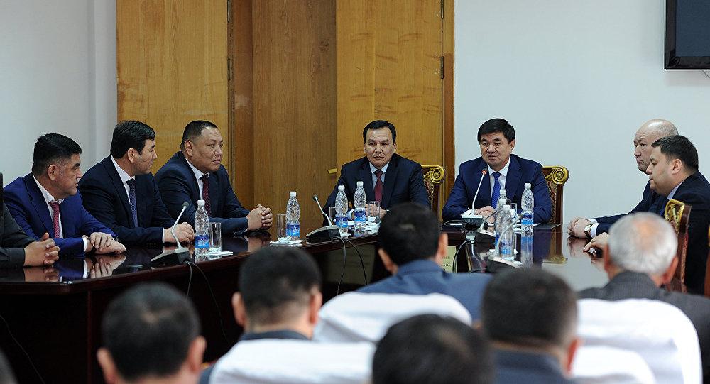 Назначение министром МВД Кашкара Джунушалиева