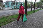 Бегают и собирают мусор — о новом увлечении бишкекчан
